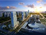 高層オフィスアーキテクチャ3Dレンダリングの写真