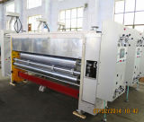 Cartón corrugado impresión que ranura la máquina troqueladora