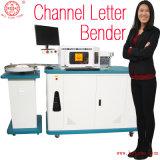 Carta de canal encendida nueva tipografía de Bytcnc