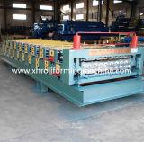 Doppelte Schicht-Dach-Panel-Rolle, die Maschine bildet