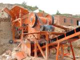 Camino de la alta calidad que hace la máquina para la piedra dura, roca, piedra, grava
