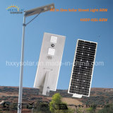 Jardim, exploração agrícola, lote de embalagem, luz de rua da energia solar de Hightway com a lâmpada do diodo emissor de luz 60W