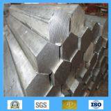 Barre hexagonale de bonne qualité d'acier sans joint