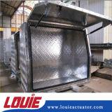 resorte de gas de elevación de la longitud de 420m m con la guarnición de extremo plástica para la caja de herramientas