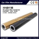 película del vinilo del abrigo del coche de la fibra del carbón 3D, vinilo de la fibra del carbón 3D