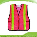 Gilet ignifuge de sécurité de maille de sécurité de polyester