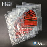 Подгонянные Ht-0725 мешки медицинской лаборатории образца Biohazard