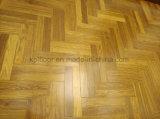 Mehrschichtiger ausgeführter hölzerner Bodenbelag-Typ und Technik-hölzerner Parkett-Fußboden