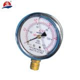 Traitement de l'eau Indicateurs de pression d'huile