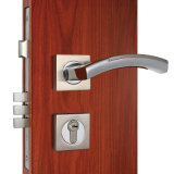 Privatleben Mortise Door Lock mit Wave Design Handle