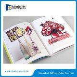 パーフェクトは、4色印刷のカタログをバインド