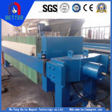 Goldlieferant Platte-und-Rahmen Typ Filter für Quarz-Sand-/Kohle-Reinigung/Wasserbehandlung