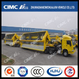Cimc Huajun 3axle 측 Tipping Train Trailer