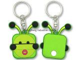 Zacht pvc Keychain van de Ketting van het Embleem Keychain van de douane Rubber 3D Zeer belangrijk
