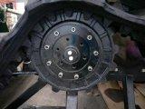 Trattore di gomma del campo di risaia del trattore del trattore 65HP della pista del trattore a cingoli