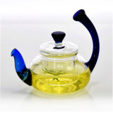 Teapot elevado Eco-Friendly do vidro de Borosilicate (CHT8141)