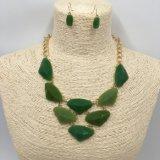 女性のためのカラー石造りのペンダントそしてイヤリングの方法Jewellry卸し売りセット