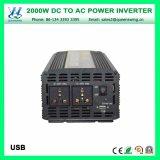 инверторы силы 2000W DC24V AC220/240V с Ce одобренным RoHS (QW-M2000)