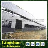 Il rivestimento d'acciaio della lamiera di acciaio di Q345b Colorbond ha prefabbricato il workshop fatto in Cina