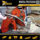 Mineralmagnet-Sand-Konzentrations-Maschinerie-Goldmagnetische waschende Prozeßpflanze