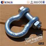 Wir Type G2130 Drop Forged Lifting Bow Shackle mit Sicherheitsnadel