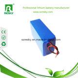 Lithium-Ionenbatterie-Satz 48V 9ah für elektrisches Fahrrad, Roller