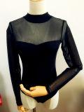 Створка европейской тенденции уникально и отрезанный Bodysuit женщин метода