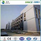 Almacén de varios pisos prefabricado de la oficina del taller de la estructura de acero
