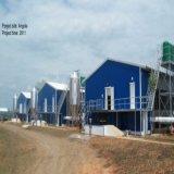 De geprefabriceerde Industriële Structurele Workshop van het Staal