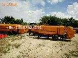 Bomba concreta diesel móvil con la certificación de Ce&ISO&BV