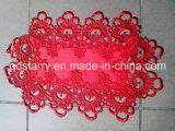 Pano de tabela vermelho M9999 do Natal