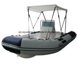 Aqualand 16feet 4.7m Rib Inflatable Boat/Fiberglass Fishing Boat (RIB470B)