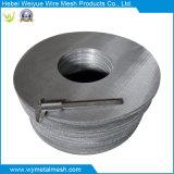 円形シートのステンレス鋼フィルター網