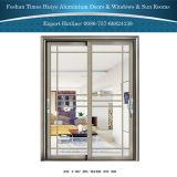Алюминиевые нутряные двери вися раздвижные двери дверей