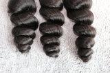 Het Maagdelijke Haar van 100% Geen Haar van de Golf van de Verwarring Zacht Los Braziliaans Menselijk