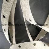 Gaxeta da selagem da isolação térmica da fibra de vidro do metal do retângulo/forma redonda não