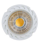 COB LED Lâmpada GU10 COB 6W 450lm AC175 ~ 265V