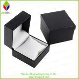 Cadre de montre de papier noir d'emballage avec la garniture intérieure d'éponge