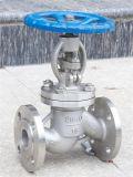 Válvula de globo manual em aço inoxidável GB com extremidade de flange (J41H)