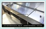 De sterke Karren van de Verkoop van het Voedsel met het Koken van de Kar van de Hotdog van Apparatuur