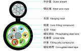 24 de Optische Kabel van de Vezel van de kern met Met hoge weerstand