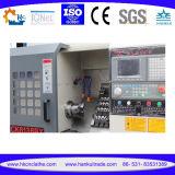 Torno para corte de metales del CNC de la mini base inclinada de la alta precisión de Ck40L China