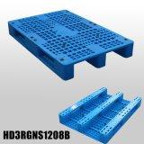 Pálete plástica Stackable resistente azul