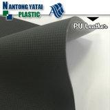 Material de couro superior sintético para sapatas do esporte