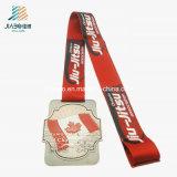 カスタム青銅色のエナメルの金属のカナダのためのブラジルのJiu-Jitsuメダル