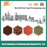 Linha de processamento de flutuação da pelota da alimentação dos peixes da grande capacidade