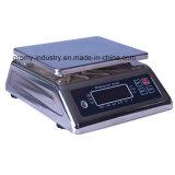 Bilancia elettronica 6kg/15kg/30kg dell'acciaio inossidabile impermeabile e