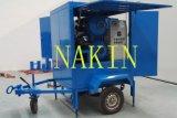 Zuiveringsinstallatie van de Olie van de Isolatie van Zym de Mobiele, de Reiniging van de Olie van de Transformator van het Type van Aanhangwagen