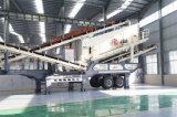 Estación aplastante de Residuos de Construcción móvil Mandíbula