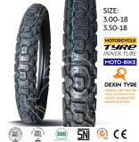 del neumático del camino la motocicleta parte el neumático 3.00-18 de la motocicleta del neumático de la motocicleta de la moto